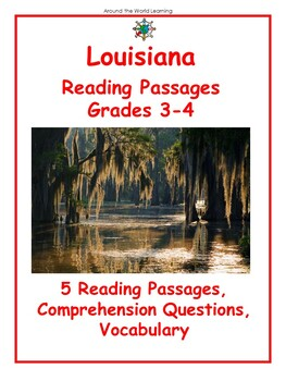 Reading Passage: Louisiana - Grades 3 and 4