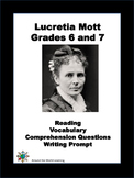 Reading Passage: Lucretia Mott