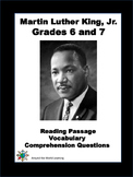 Reading Passage: Martin Luther King Jr.