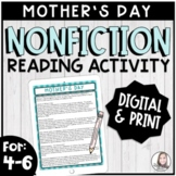 History of Mother's Day Reading Passage