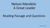 Reading Passage: Nelson Mandela