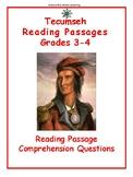 Reading Passage: Tecumseh - Grades 4 and 5