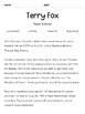 Reading Passage - Terry Fox