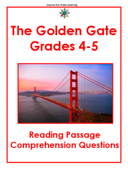 Reading Passage: The Golden Gate
