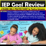 Reading Passage and WH Questions | POSITIVE OUTCOMES IEP G