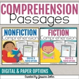 Reading Comprehension Passages and Questions Bundle- with Google Forms