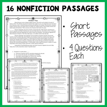 Nonfiction Reading Passages for 2nd Grade and 3rd Grade