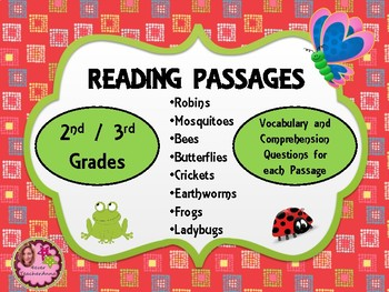 Nonfiction Reading Passages / Cite Evidence - 2nd / 3rd Grades