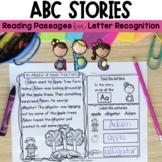 Reading Passages: ABC Stories for Letter Recognition