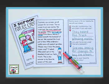 Reading Passages Advanced - Fluency and Comprehension