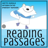 Arctic Animal Reading Passages for Kinders and First Grade