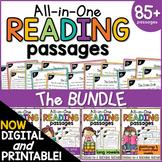 Phonics Reading Comprehension Passages And Questions BUNDL