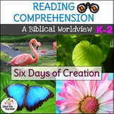 Reading Comprehension Passages Days of Creation K-2