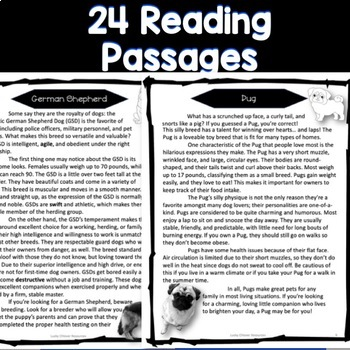 Reading Passages - Dog Breed