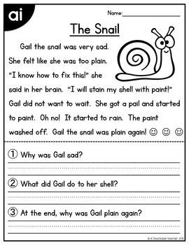 Long Vowels Reading Passages FREEBIE by A Teachable Teacher | TpT