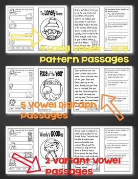 Reading Passages - Fluency and Comprehension