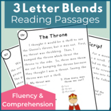 Three Letter Blends Reading Passages for Fluency and Compr