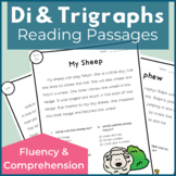 Reading Passages for Fluency and Comprehension Digraphs and Trigraphs