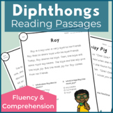 Diphthongs Reading Passages for Fluency and Comprehension