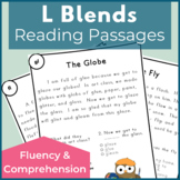 L Blends Reading Passages for Fluency and Comprehension