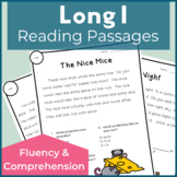 Reading Passages for Fluency and Comprehension Long I