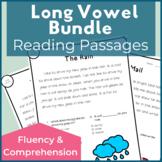 Long Vowel A E I O U Reading Passages for Fluency and Comprehension Bundle