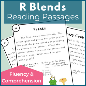 Reading Passages for Fluency and Comprehension R Blends