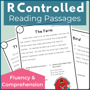 Reading Passages for Fluency and Comprehension R Controlled Vowels