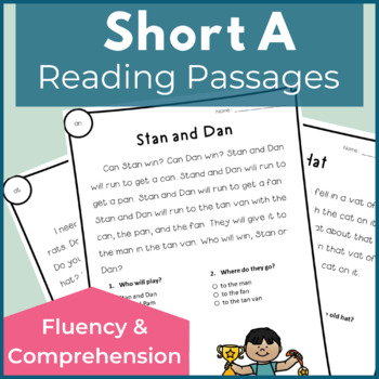 Reading Passages for Fluency and Comprehension Short A