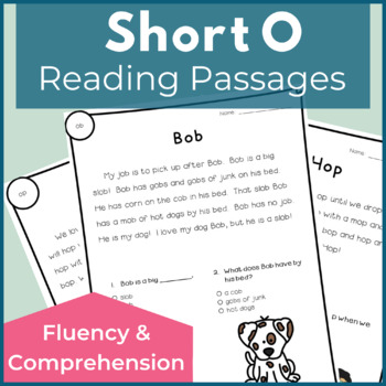 Reading Passages for Fluency and Comprehension Short O