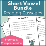 Short Vowel A E I O U Reading Passages for Fluency and Com