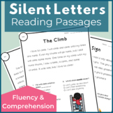 Silent Letters Reading Passages for Fluency and Comprehension