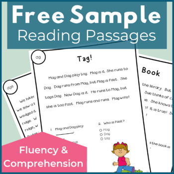 Free Reading Passages for Fluency and Comprehension