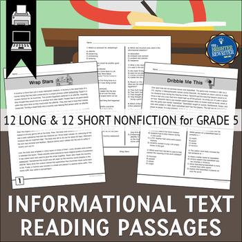 Informational Text Passages