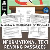 Informational Text Passages Grade 5