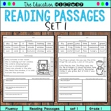 Reading Passages | I Can Read Set 1