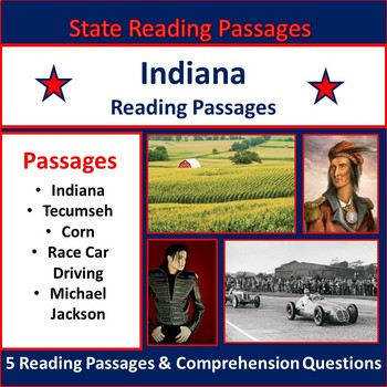 Reading Passages: Indiana - Grades 4 & 5
