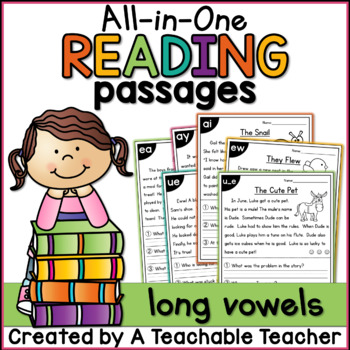 Long Vowels All-in-One Reading Passages