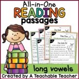 Long Vowels All-in-One Reading Passages   Distance Learning