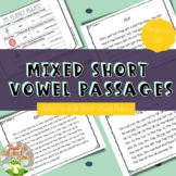 Reading Passages--Mixed Short Vowels {controlled practice}