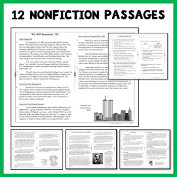 Reading Passages Nonfiction Set 2 for 2nd Grade and 3rd Grade