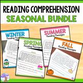 Reading Passages Seasonal Bundle - Printable & Digital