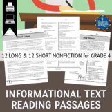 Informational Text Passages Grade 4