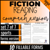 Reading Passages: Sports {Fiction Set 7/7} Independent Wor