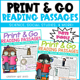 Reading Comprehension Passages {Super Bundle}
