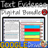 Reading Passages Text Evidence DIGITAL BUNDLE Semester 2 D