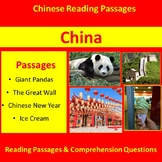Around the World: China Reading Passages for Grades 3-4