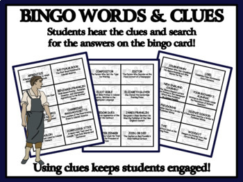 READING PASSAGES AND BINGO - Colonial American Printers and Publishers