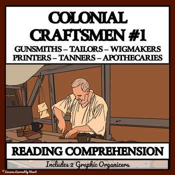 Reading Passages and Comprehension Questions: Colonial Cra