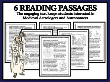 Reading Passages and Bingo - Medieval Astrologers